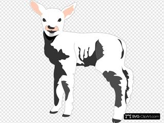 Lamb SVG Clipart