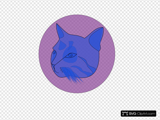 Blue Cat SVG icons