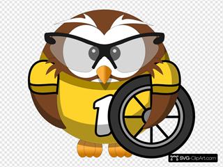 Owl Bicyclist
