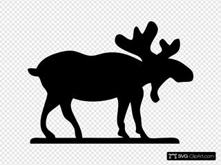 Moose Sihouette