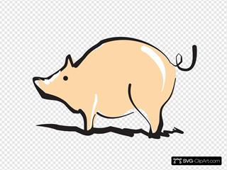 Shiny Pig