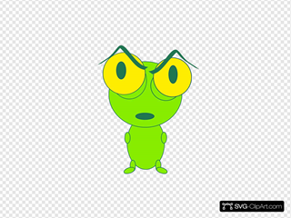 Upset Frog Thing
