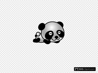 Cartoonish Panda