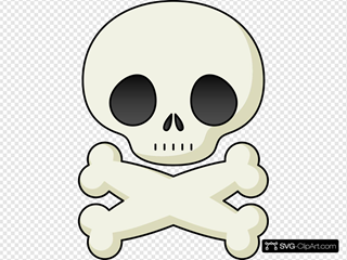 Cute Skull SVG Cliparts