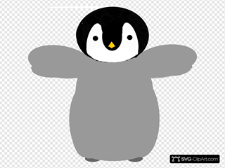 Penguin SVG Cliparts