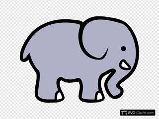 Cartoon Elephant 2