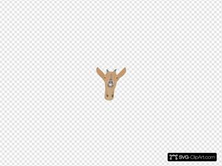 Goat Head SVG Clipart