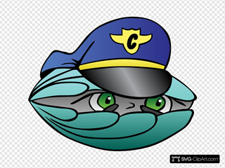 Clam Security Guard In Color