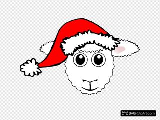 Santa Sheep