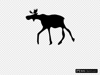The Elk SVG Clipart