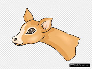 Cute Deer Head