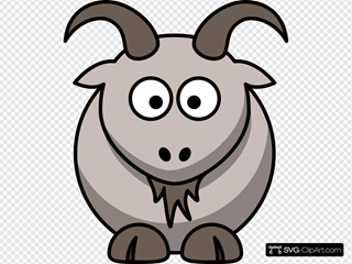 Cartoon Goat