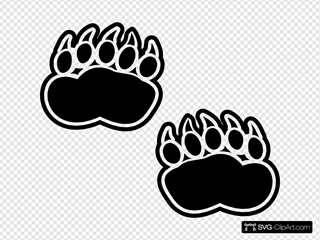 Foot SVG Cliparts