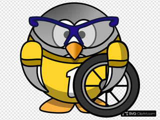 Bicyclist Penguin