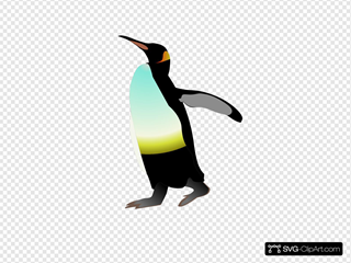Emperor Penguin SVG Cliparts