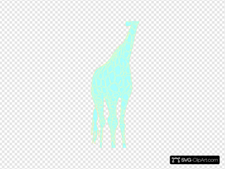 Aqua Giraffe