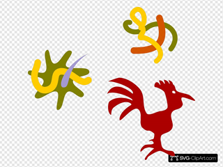 Rooster Star Worms