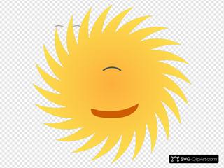 Mr Sun Clipart