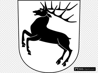 Hirzel Coat Of Arms Shield