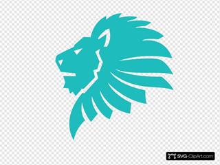Lion King Circle Clipart