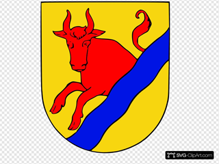 Mariestad Coat Of Arms Clipart
