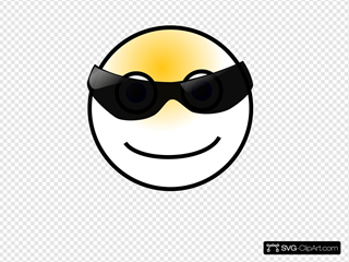 Smiley SVG Clipart