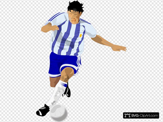 Futbolista Soccer Player