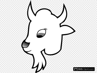 Goat Outline 1