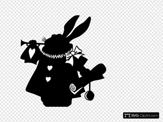 Rabbit Silhouette
