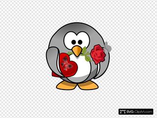 Valentines Day Penguin