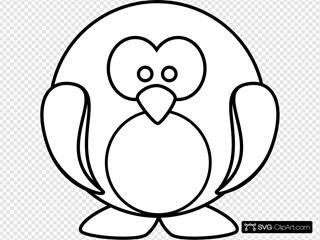 Penguin Outline