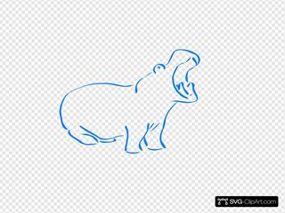 Hippo Sneezing