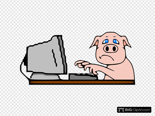 Pig On Computer