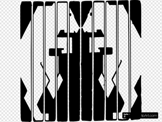 Caged Bears  Clipart