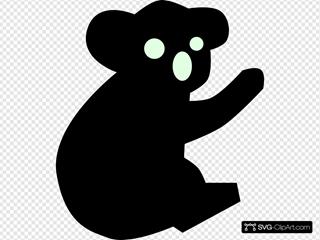 Koala Silhouette