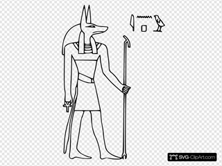 Pharoa God Anubis
