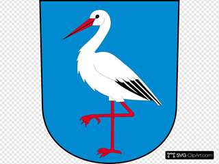Walking Ibis SVG Cliparts