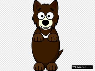 Wolf Cartoon Character