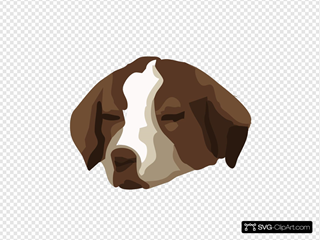 Bored Dog Clipart
