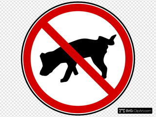 Dog No Peeing!