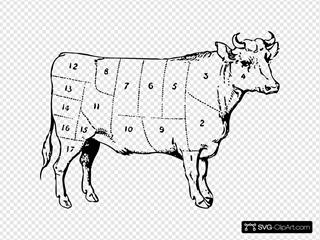 Ox 1 SVG Clipart