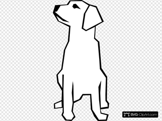 Dog Simple Drawing