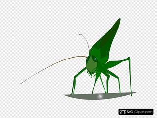 Emeza Grasshopper SVG Clipart