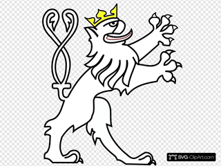 Lion With Crown