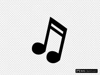 Musical Note 3 Clipart