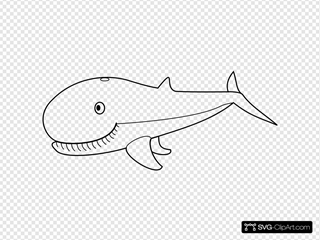 Whale Outline