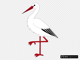 Ibis Bird Wipp Oetwil Am See Coat Of Arms