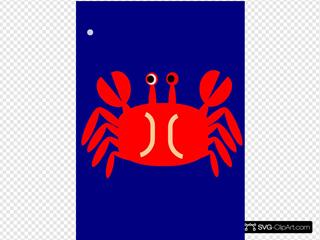 Crab SVG Clipart