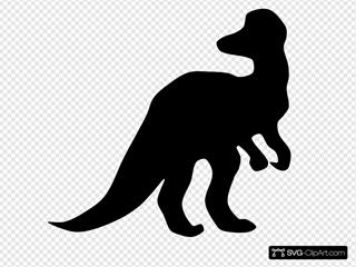 Corythosaurus Shadow
