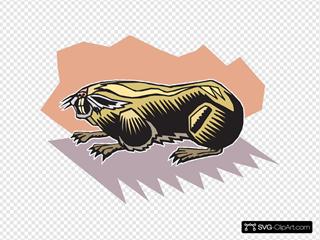 Stylized Mole